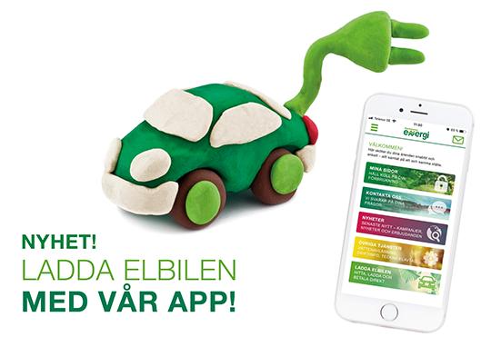 Ladda och betala med vår app!